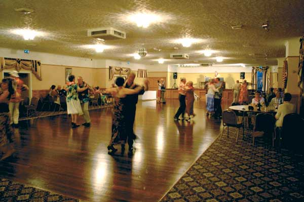 Line dance with Kate Sala at Paddocks Hotel